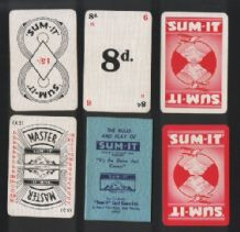 Collectible cards game. Sum-it by